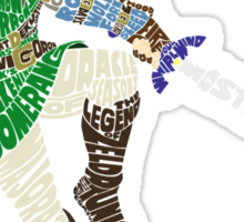 Link Typography Sticker