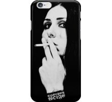 Chelsea Wolfe (Cigarette) iPhone Case/Skin