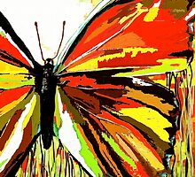 A Butterfly So Red by Saundra Myles