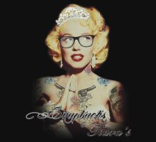 Tatted Monroe Tshirt by Snapbacks & Tiaras by snapbackqueen