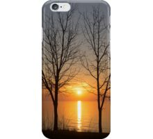 Three Trees and the Sun iPhone Case/Skin