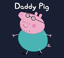 Daddy Pig Throw Pillow/Tote Bag by Russ Jericho