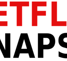 The Three N's Of My Life - Netflix, Naps, Nutella Sticker