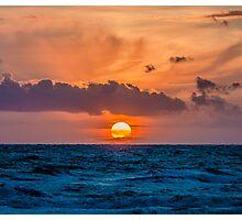 Dutch Sunset Photographic Print