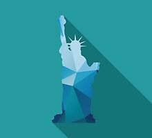 World landmark, Statue of Liberty, New York City, USA by BlueLela