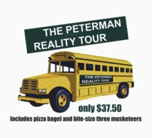 Seinfeld Kramer Peterman Reality Tour Shirt by movieshirtguy