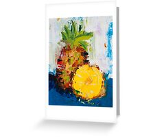 The Lone Pineapple Greeting Card