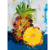 The Lone Pineapple Photographic Print