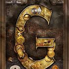 Steampunk - Alphabet - G is for Gears by Mike  Savad