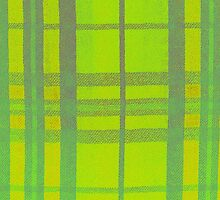 Lime Tartan by MagsArt