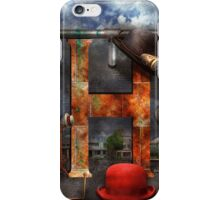 Steampunk - Alphabet - H is for Hats iPhone Case/Skin