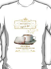 Cafe au Lait and Beignets T-Shirt
