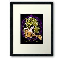 Madame Vastra and Jenny Framed Print