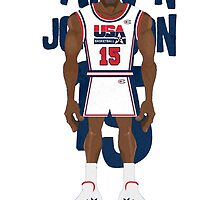 Magic Johnson Team USA  by samjones24