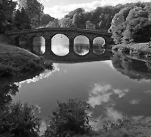 Stourhead B & W by RedHillDigital
