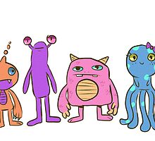 monsterz by chazzforte