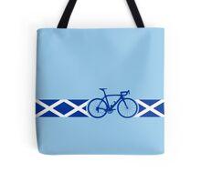 Bike Stripes Scotland Tote Bag