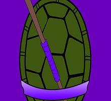 TMNT Donatello Shell Case by LumpyHippo