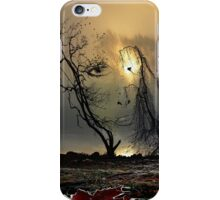 Face Of Autumn iPhone Case/Skin