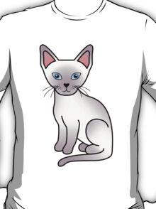 Lilac Point Siamese Cat T-Shirt