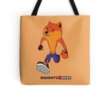 naughty doge Tote Bag