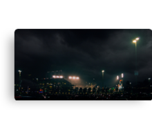 Giants stadium, but I see no giants.  Canvas Print