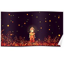 grave of the fireflies (la tumba de las luciérnagas) Poster