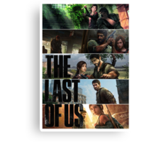 The Last of All. Canvas Print