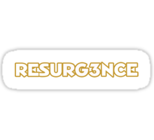 Redskins RESURG3NCE - RG3 Sticker