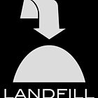 Trash - Landfill, in black by corpsrpeople
