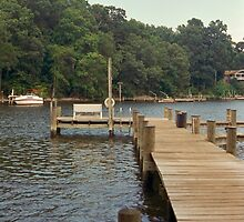 Sittin' On The Dock Of The Bay by Emma Whitehorn