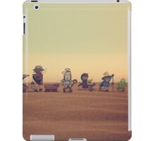 Getting along with the locals iPad Case/Skin