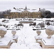 Reigate Priory in the Snow by AndyHuntley