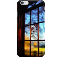 Window with a View iPhone Case/Skin