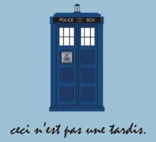 This Is Not A Tardis by ItsSabYo