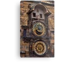 †† Prague Astronomical Clock †† Metal Print