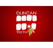 Duncan Teeth Photographic Print
