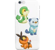 Pokemon Starters - Gen 5 iPhone Case/Skin