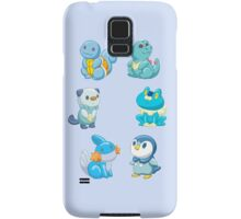Pokemon Starters - Water Types Samsung Galaxy Case/Skin