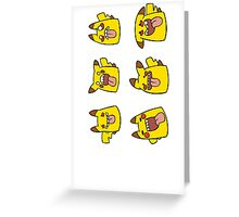 Derpachu collection! Greeting Card