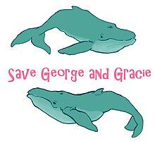 Star Trek: Save George and Gracie Photographic Print