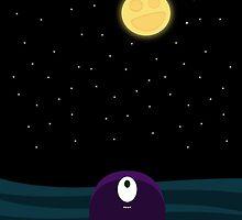 Happy Moon by Meghan Harper