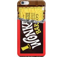 Wonka Bar Golden Ticket iPhone Case and Samsung Case iPhone Case/Skin