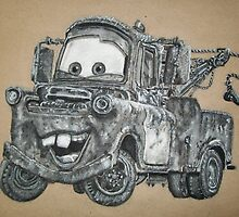 Tow mater by PortraitsByMe