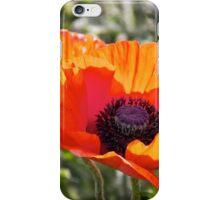 Poppy love iPhone Case/Skin