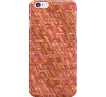 Crispy Tastey Bacon Weave iPhone Case/Skin