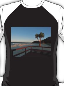 Boardwalk with a Tree with a View T-Shirt