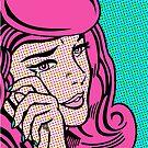 Sad Girl - Pink by Amy Grace