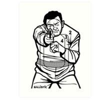 762Ballistic Target - The Thug Art Print