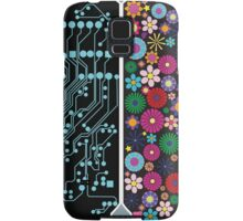 Left and right brain Samsung Galaxy Case/Skin